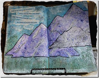 Life My Eyes Art Journal w border