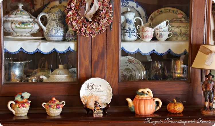 Thanksgiving Decor-Bargain Decorating with Laurei