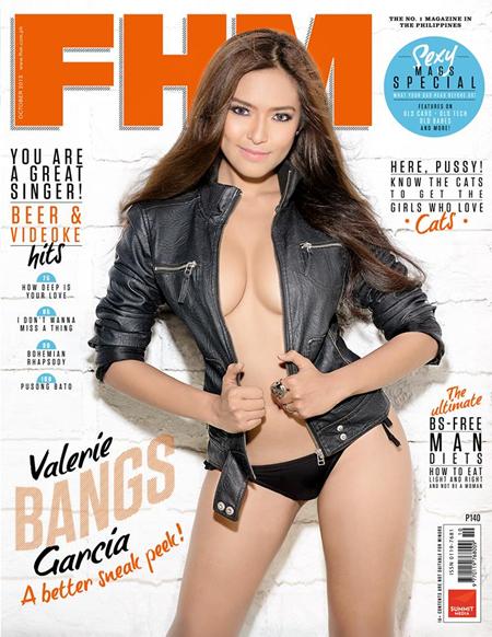 Bangs Garcia on FHM PH Oct 2013