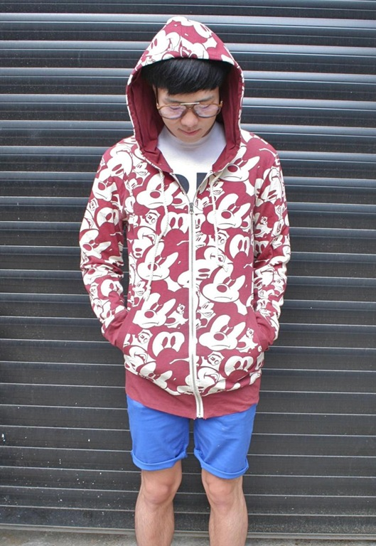 Mickey Mouse Hoodie, £14.99, Burger & Fries