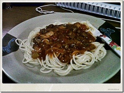 spagetti-ayam-jamur
