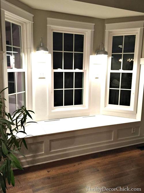 outdoor lights inside