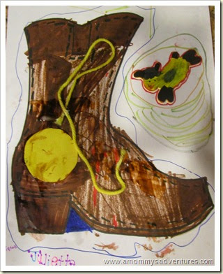 Decorating Cow Girl Boots