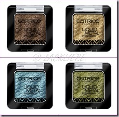 Catrie LAfrique Liquid Metal Eyeshadow
