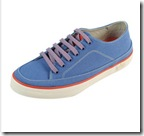 FitFlop Super T Trainer Blue Canvas
