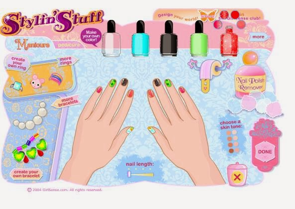 For Girls Games Manicure Game