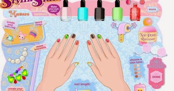 Nail Designs Games For Girls Free Nail Designs Hair Styles