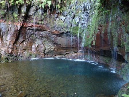 Obiective turistice Madeira: Cascada celor 25 izvoare