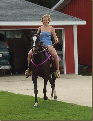 Jessica on horse 2