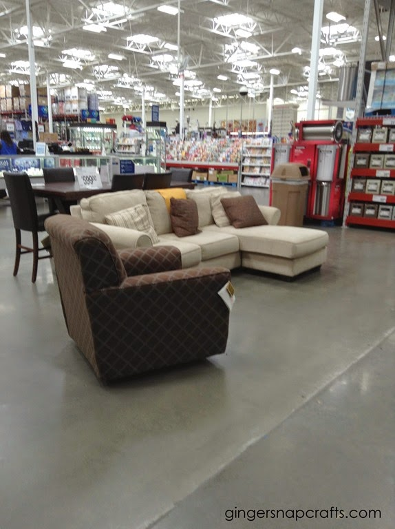 furniture at Sam's Club