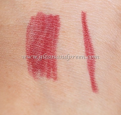 Tips n Toes Lip Pencil Swatch