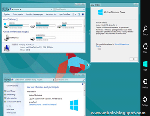 Windows 8 Transformation Skin Pack - mboir