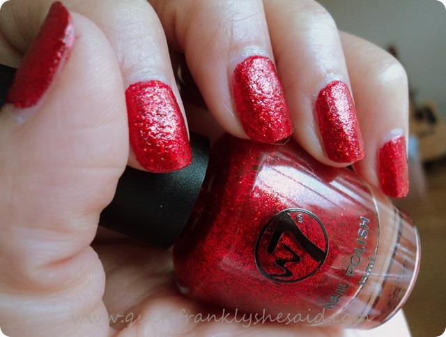 W7 Red Dazzle