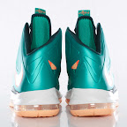 nike lebron 10 gr miami dolphins 3 04 Gallery: Nike LeBron X Miami Setting or Dolphins if you Like