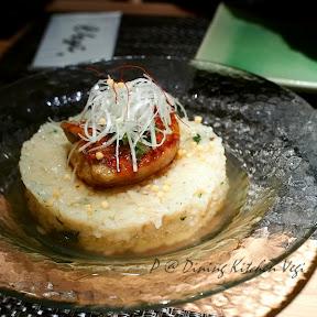 照燒鵝肝配山菜豬肉飯 @ Dining Kitchen Vegi