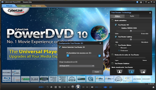 Descargar Cyberlink PowerDVD 10 gratis