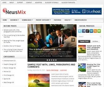 NewsMix-Blogger-Template