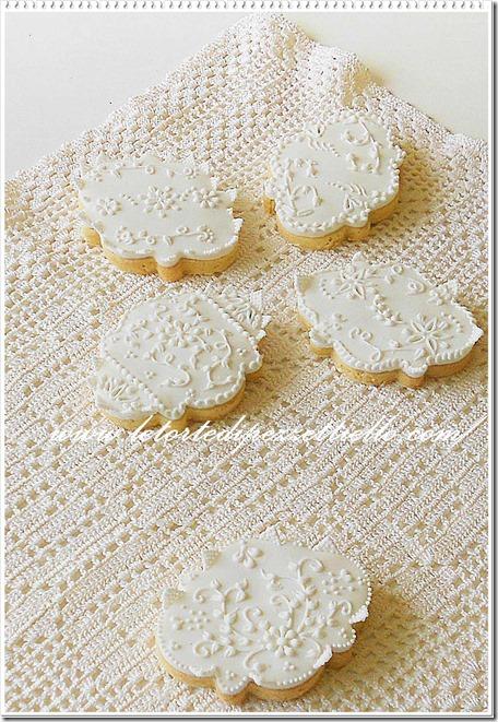Biscotti decorati eleganti