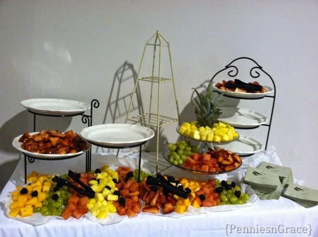 appetizer arrangement