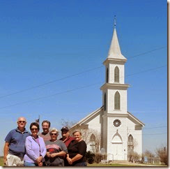 Schulenburg TX painted Churchs