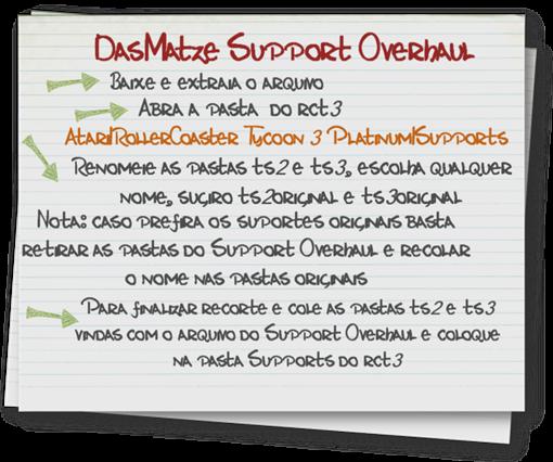 Support Overhaul Instalação (DasMatze) lassoares-rct3