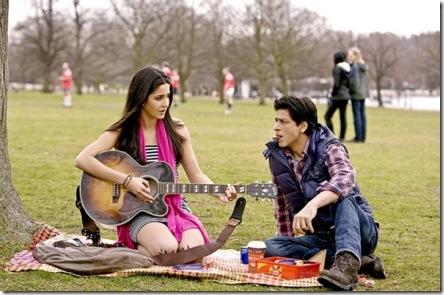 SRK Katrina Kaif romance
