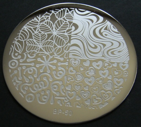 BornPrettyStore's stamping plate BP-50