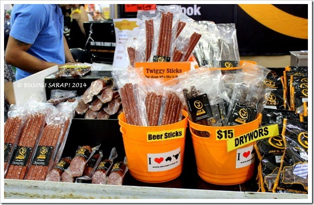 Good Food and Wine Show 2014 - Jim's Jerky © BUSOG! SARAP! 2014
