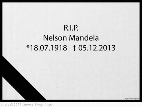 'The world just lost a great man' photo (c) 2013, Dennis Skley - license: http://creativecommons.org/licenses/by-nd/2.0/