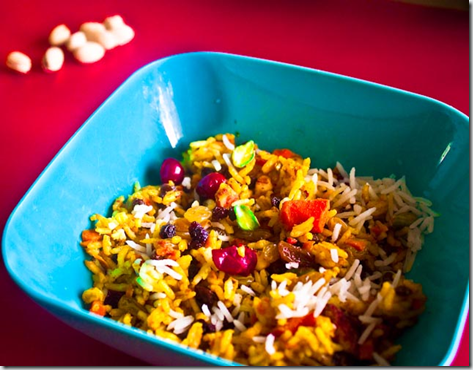 Jeweled Basmati Rice