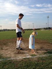 soccer- dirt