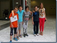 Οι μαθητές μας με την υπεύθυνη καθηγήτρια κ. Αριστέα Νάστου