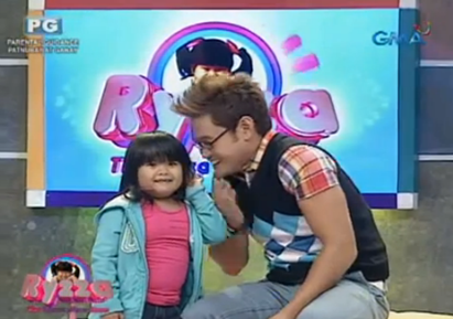 Ryzza Mae Dizon and Mr. Fu