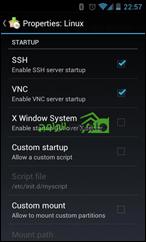 تطبيق تشغيل توزيعات لينكس على الأندرويد Linux Deploy 5