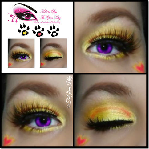 Draculaura Art Class Collage Glam