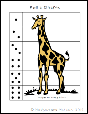 Giraffe Printables 7