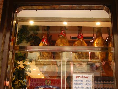 Obiective turistice Madrid: Jamon