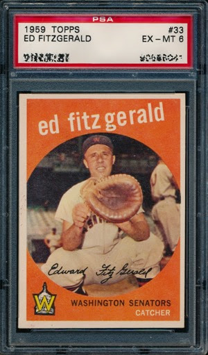 1959 Topps 33 Ed Fitzgerald