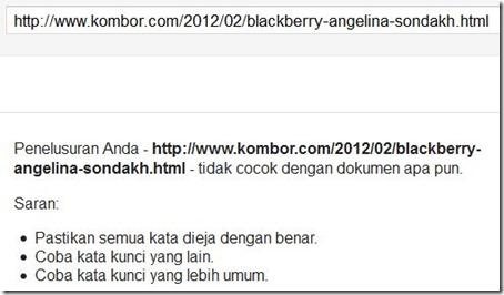 16 feb 2012 belum keindeks juga