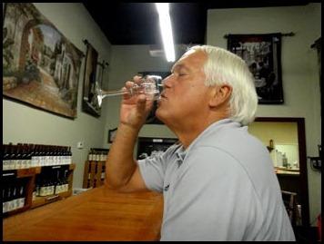 paul-drinking
