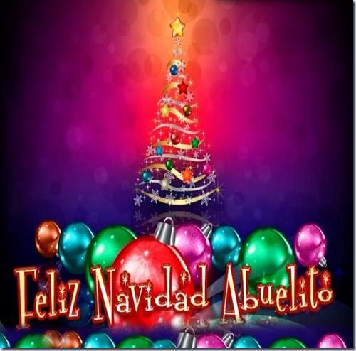 feliz navidad, ABUELITO