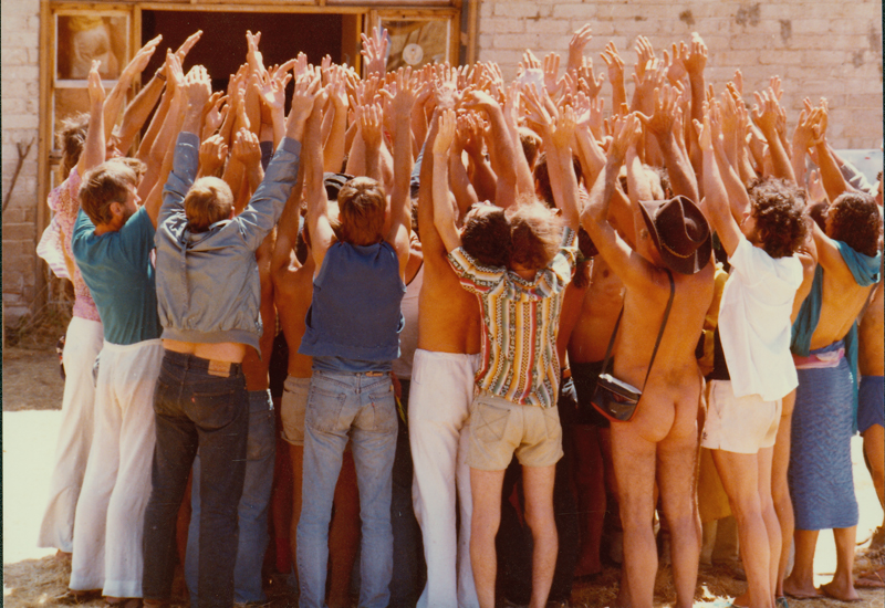 A Radical Faeries gathering in Madre Grande. June 1983.