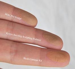 Comparativa contorno dedos