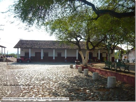 Casa Pinzón en Cutzamala.
