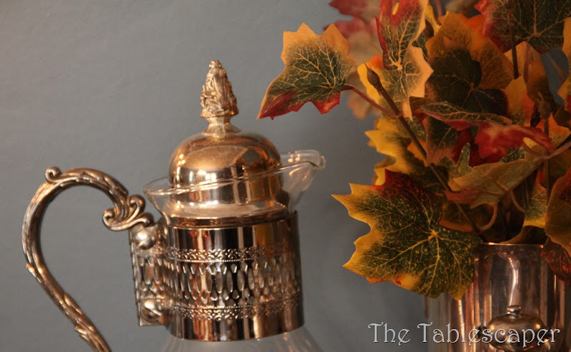 Fall Metallic Dining room 027