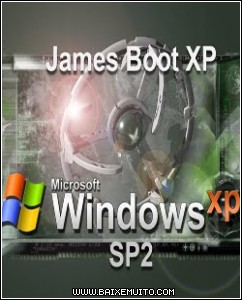 4fcfa12469ecf Download   James Boot XP   Windows XP SP2 Baixar Grátis