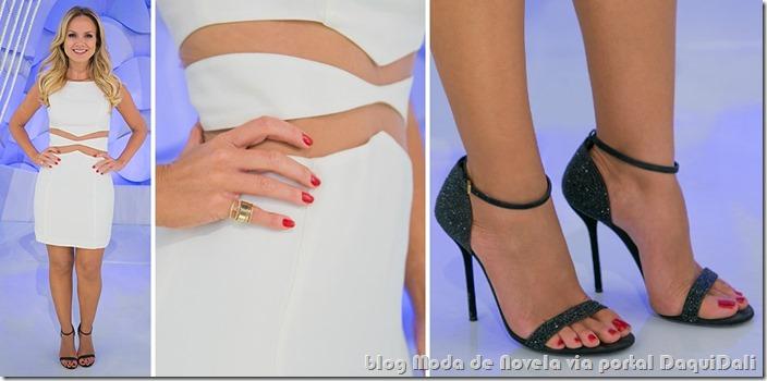 moda do programa aliana - eliana dia 12 de outubro de 2014