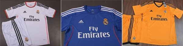 Jersey Real Madrid Musim 2013-2014