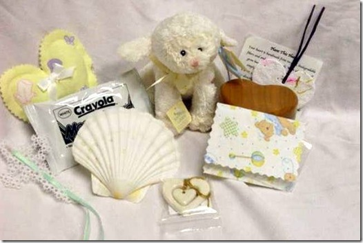 compassion kit contents display