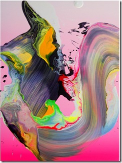 neon color yago hortal art via theaestate